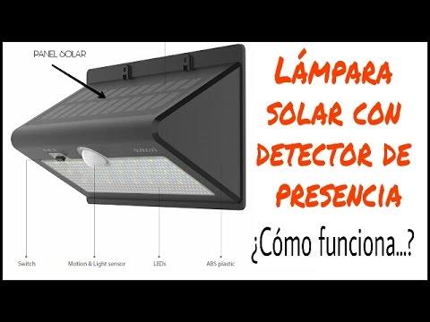 Detector De Presencia¿cómo Lámpara Con Solar Dodocool Funciona orxdCBe