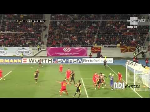 Macedonia 0-2 BELGIUM's highlights | World Cup 2014 qualifying Group A | 2013/03/22