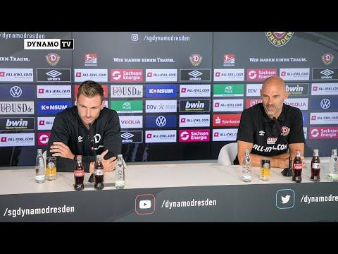 2. Spieltag | HSV - SGD | Pressekonferenz vor dem Spiel