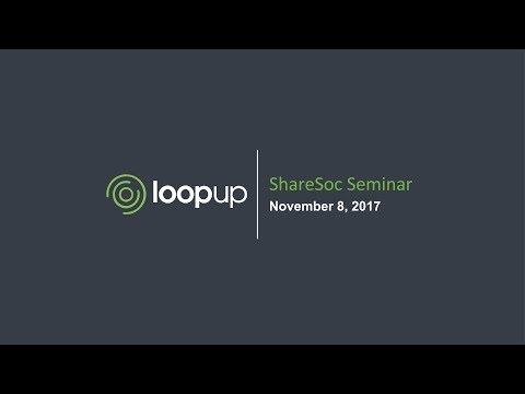 Loopup (LOOP) at ShareSoc growth seminar November 2017