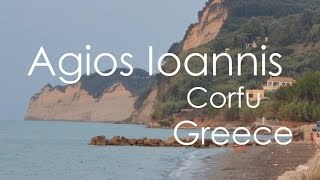Agios Ioannis Karousades in Corfu (Greece)