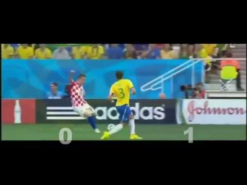 Brazil vs Croatia 0 1 Own Goal Marcelo World Cup Brasil  2014