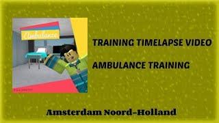 Meedoen aan ambulance training! - ROBLOX Amsterdam Noord-Holland (2018)