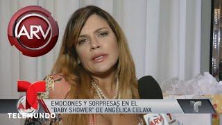 Video Angélica Celaya celebró el baby shower de su bebé | Al Rojo Vivo | Telemundo download MP3, 3GP, MP4, WEBM, AVI, FLV Januari 2018
