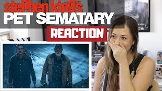 PET SEMATARY (2019) - Official Trailer - REACTION