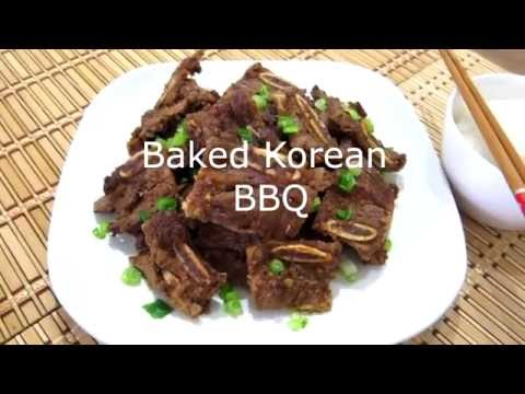 Quick Recipe: Baked/Oven Korean BBQ Short Ribs for small kitchen/apartment