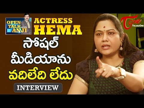 Actress Hema Exclusive Interview | Open Talk with Anji | #08 | Telugu Interviews