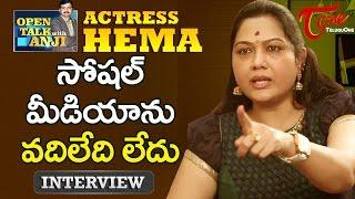 Actress hema exclusive interview | open talk with anji | #08 | telugu interviews