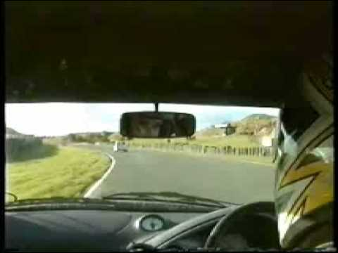 1300 Ford Ka on Knockhill before Xr2 conversion. y