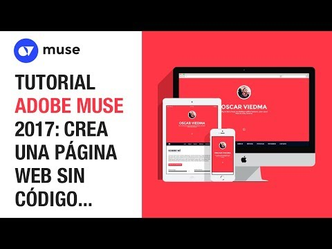 TUTORIAL ADOBE MUSE CC 2017: CREA UNA PÁGINA WEB RESPONSIVA DESDE CERO CON ADOBE MUSE