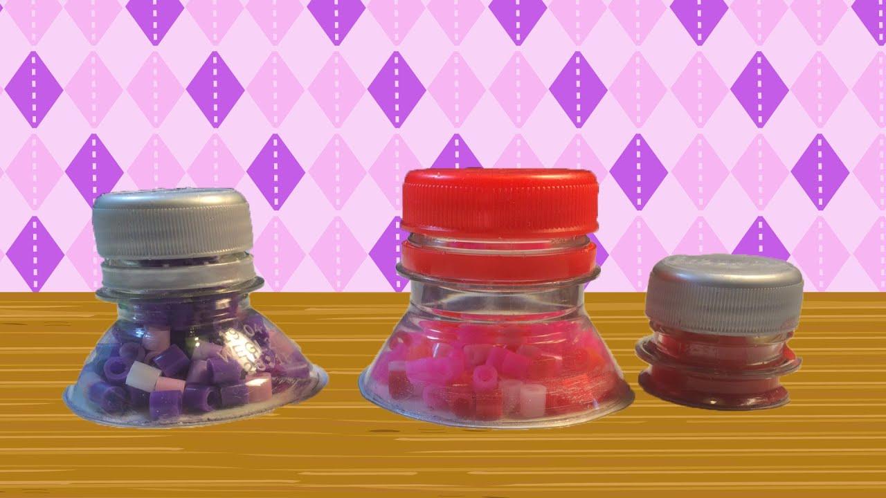 Zeer Knutseltip: potje knutselen van een plastic fles. - YouTube @YY13