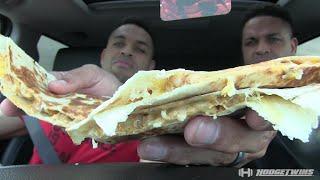 Taco Bell's Doubledilla Taste Test @hodgetwins