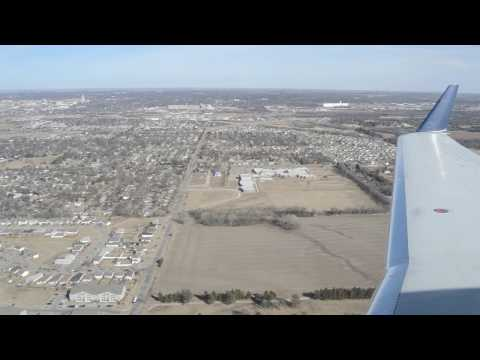 Delta CRJ-200 Landing in Lincoln, NE