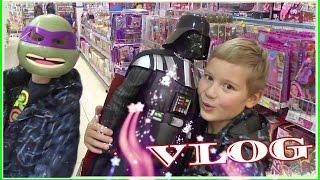 VLOG поход в детский магазин игрушки Куклы Монстр Хай  Shopping children's store  TMNT Star wars(, 2015-10-26T17:34:28.000Z)