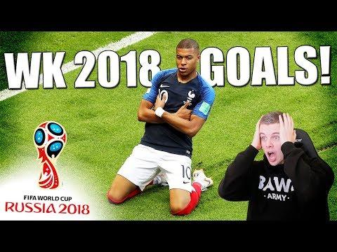TOP 10 VOETBAL GOALS TIJDENS HET WK 2018!! NEDERLANDS
