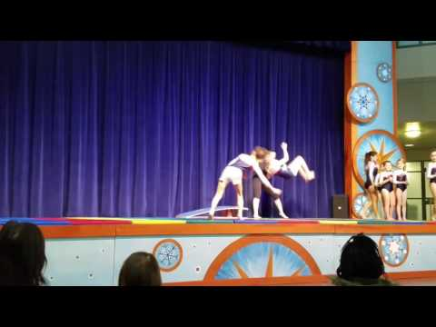 The Little Gym of Everett Jets performance at Winter Fest 2016