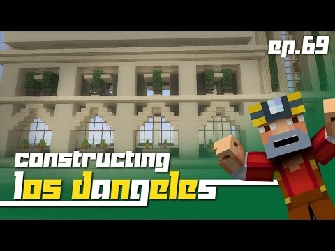 Minecraft Xbox 360: Constructing Los Dangeles - Episode 69! (New Roads and Space!)