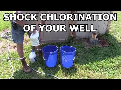 How To Disinfect Your Well Water - Shock Chlorination
