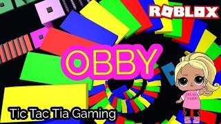 Roblox: Unicorn OBBY Come play! TictacTia Gaming Playing Roblox Unicorn Obby