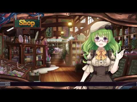 The pub, the shop, the world map Fairy Fencer F ADVENT DARK FORCE ep008  