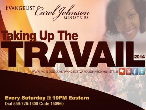 Evangelist Carol Johnson Ministries: The Blood of Jesus Travail
