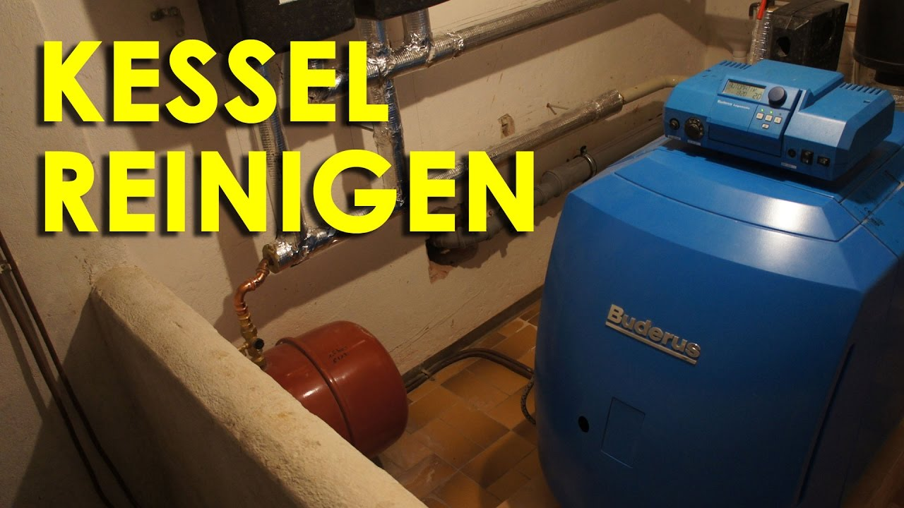 Heizkessel Reinigen Youtube