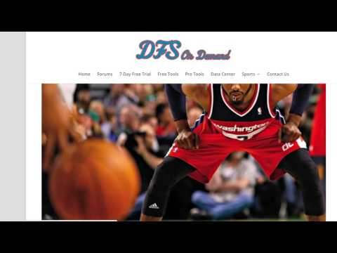 How To Make DFS NBA Projections - DraftKings Tutorial (Updated)