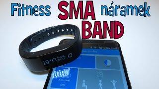 TEST SMA BAND - Fitness náramek│Aliexpress česky│Unboxing - rozbalovačka - TEST - návod - recenze CZ