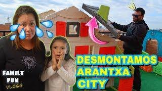 DESMONTAMOS ARANTXA CITY (La ciudad de la terraza) Os explicamos por que!
