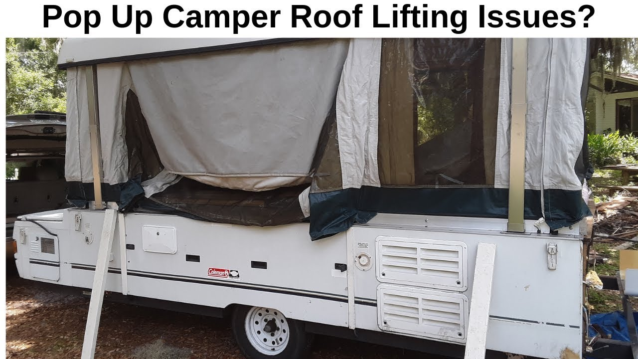 Coleman - How to Repair Pop Up Camper Roof Lifting Issues