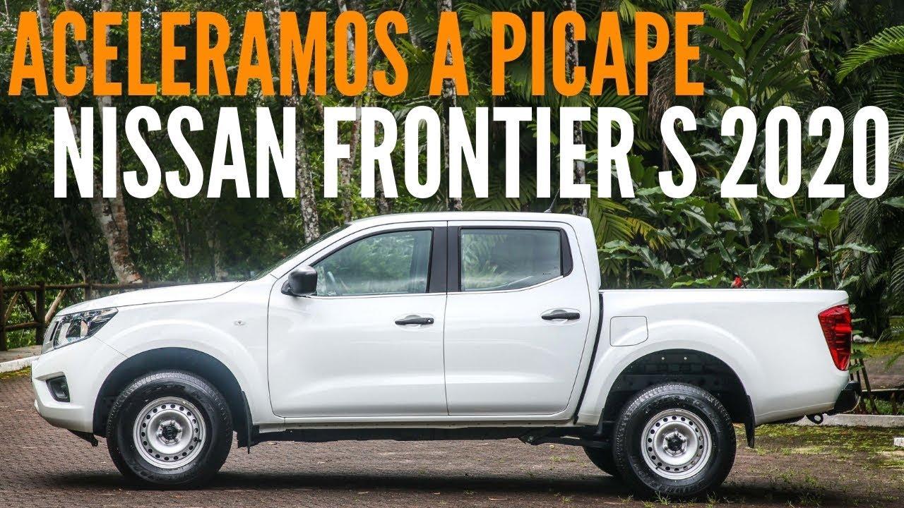 Aceleramos A Picape Nissan Frontier S 2020 Manual 4x4 Blogauto