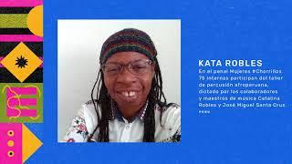 Kata Robles - 75 internas participan del taller de percusión afroperuana
