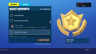 GIFTING FORTNITE SEASON 10 BATTLE PASS TO VIEWERS | *NEW* UPDATE | ROAD TO 3.1K