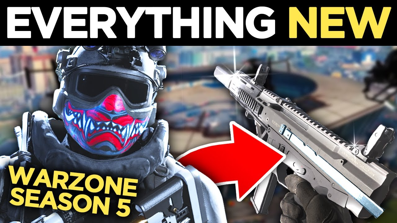 Everything NEW In Warzone SEASON 5 + NEW ISO SMG Is INSANE