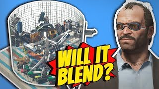 GTA 5 - Building A MASSIVE BLENDER!