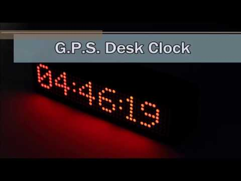 Kickstarter Worldwide GPS Desk Clock