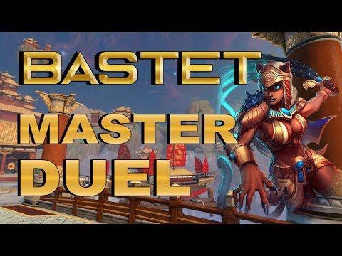 SMITE! Bastet, La gata en late es potente! Master Duel S4 #123
