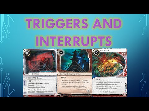 Android Netrunner: [RULES] Triggers and Interrupts