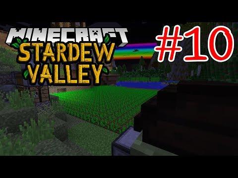 อัพเ�รดที่รดน้ำ พร้อมเตรียมสร้าง townhall!! - Minecraft Stardew Valley #10