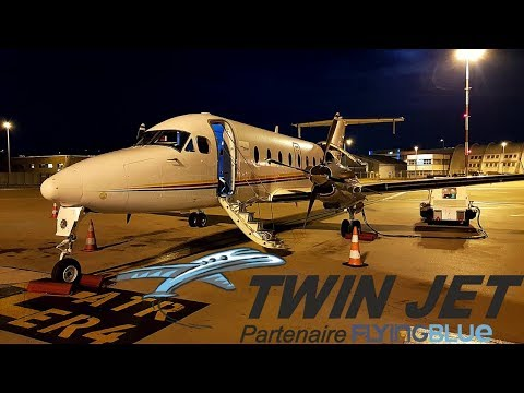 FLIGHT REPORT / TWINJET BEECHCRAFT 1900D / MARSEILLE - PAU
