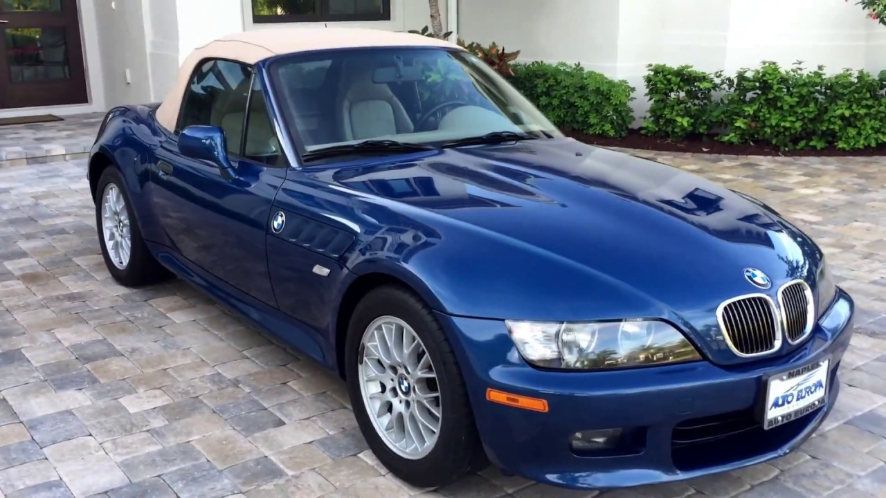 2000 bmw z3 2 8 roadster for sale by auto europa naples. Black Bedroom Furniture Sets. Home Design Ideas