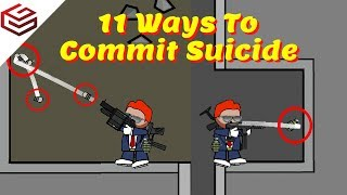 DA2 MiniMilitia Every Possible Ways To Commit Suicide | The Last One Wont Work For Me !!😢😢