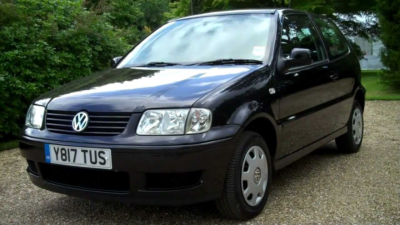 2001 y vw polo match 3dr hatchback in black youtube. Black Bedroom Furniture Sets. Home Design Ideas