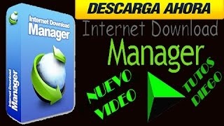DESCARGAR IDM INTERNET DOWLOAD MANAGUER 2016 FULL O PORTABLE