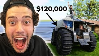 Crashing A $120,000 ATV!