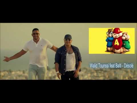 Walid Tounssi feat Balti - Désolé Version Chipmunks