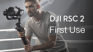 DJI RSC 2   H๐w to Use DJI RSC 2