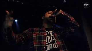 Zpu ft Nach - Estira los dedos  - (live) Sala Arena MADRID 15/03/2014