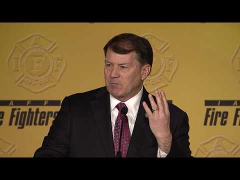 Sen. Mike Rounds (R-SD) - IAFF Legislative Conference 2017