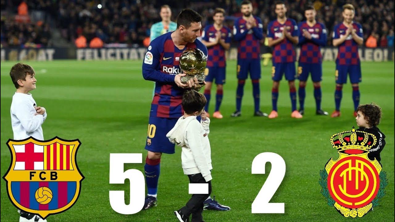 Barcelona Vs Real Mallorca   La Liga   Match Review